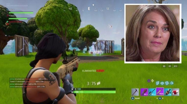 'Fortnite' is een van de populairste games ooit gemaakt.  Inzet: moeder Britta Hodge.