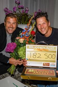 Almkerkse René wint 182.500 euro in Miljoenenjacht