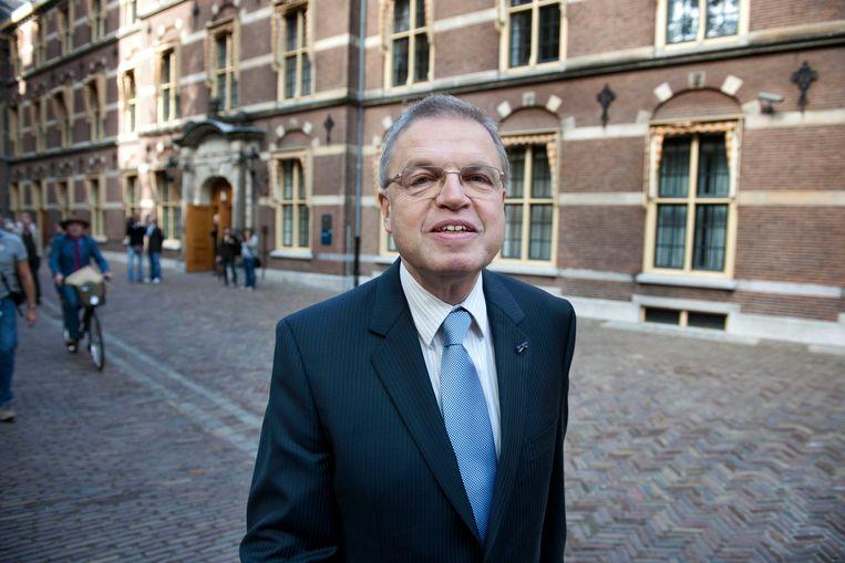 Oud-minister en CDA-prominent Ernst Hirsch Ballin.  Beeld ANP