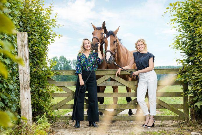 Boer zkt Vrouw – Home Sweet Home. Op de foto: An Lemmens & Dina Tersago