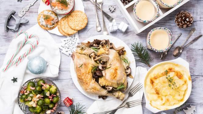 Te veel gegeten van de kerstdis? Deze tips perken de schade in