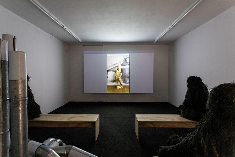 'Footnote' van Ana Navas  Beeld Natascha Libbert, courtesy tegenboschvanvreden, Amsterdam