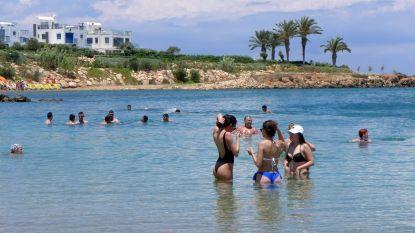 Cyprus puft zeker tot het weekeinde onder een hittegolf