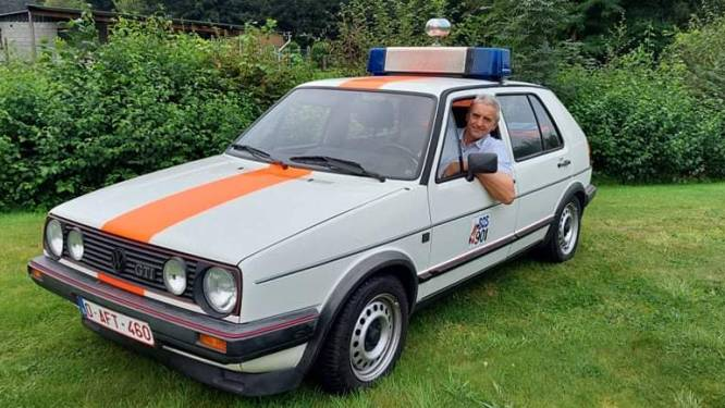 """Wanneer Ronny Smeyers met z'n Golf GTI op de baan komt, houdt iedereen zich aan de verkeersregels: """"Mensen denken nog altijd dat ik een echte rijkswachter ben"""""""