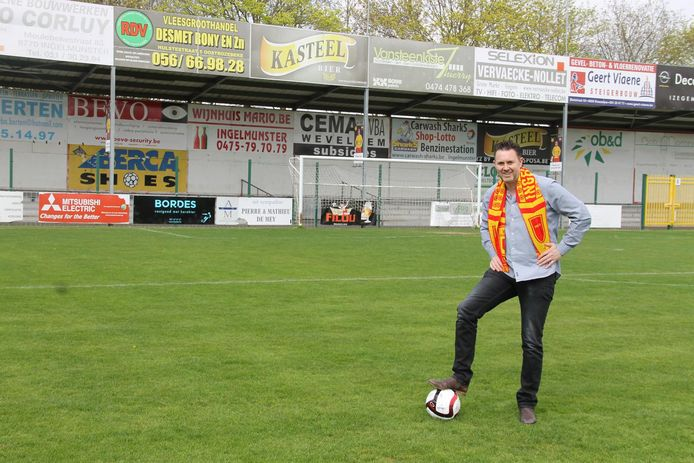 Voorzitter Francis Vandeputte is klaar om met SV Ingelmunster opnieuw voetbal naar de gemeente te halen.