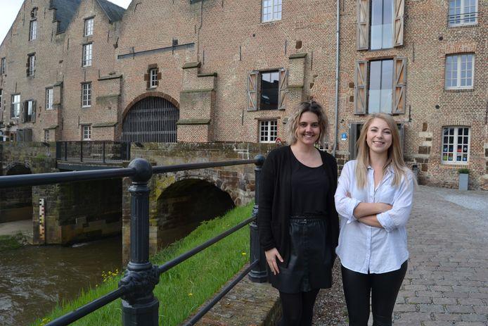 Magalie en Valerie van Hotel 's Hertogenmolens.