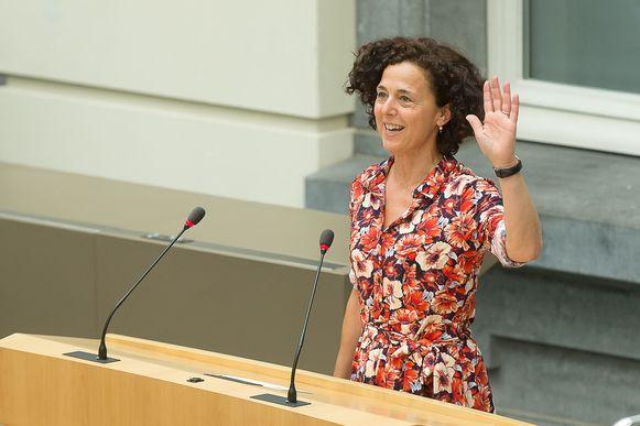 Annick Lambrecht legde zopas nog de eed af als Vlaams parlementslid.