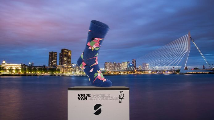 De sok van Rotterdam.