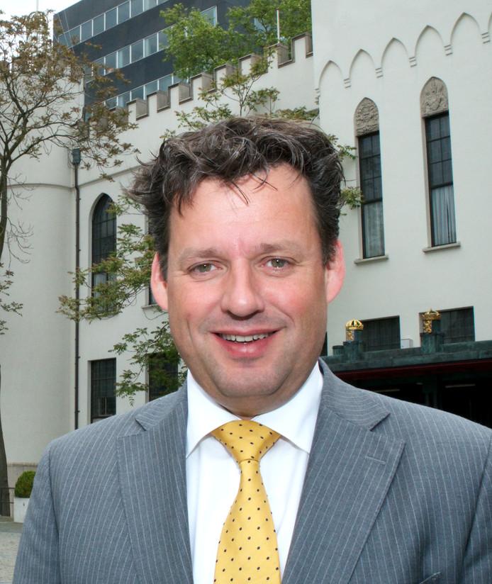 Joost Möller, oud-wethouder en nu voorzitter van de VVD in Tilburg.