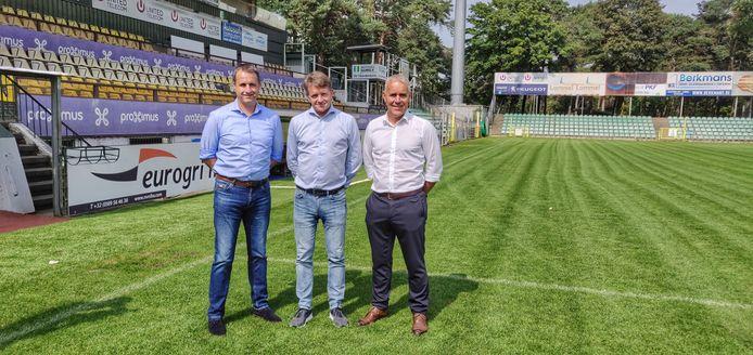 Sportief Directeur Ronny Van Geneugden - CEO Rudi Vandeput - Operationeel Directeur Harm Van Veldhoven
