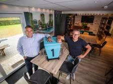 Speciale chillhoek in vernieuwd clubgebouw Zwemclub Losser; 'Zwemvereniging met eigen honk, ze zijn er niet veel in ons land'