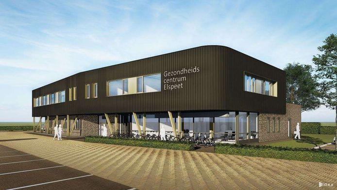 Als de hoogste rechter groen licht geeft kan de bouw van een gezondheidscentrum in Elspeet begin volgend jaar beginnen.