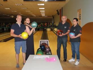 Trouwe klanten Bertrand en Viviane komen meteen potje bowlen in Bowling Stones
