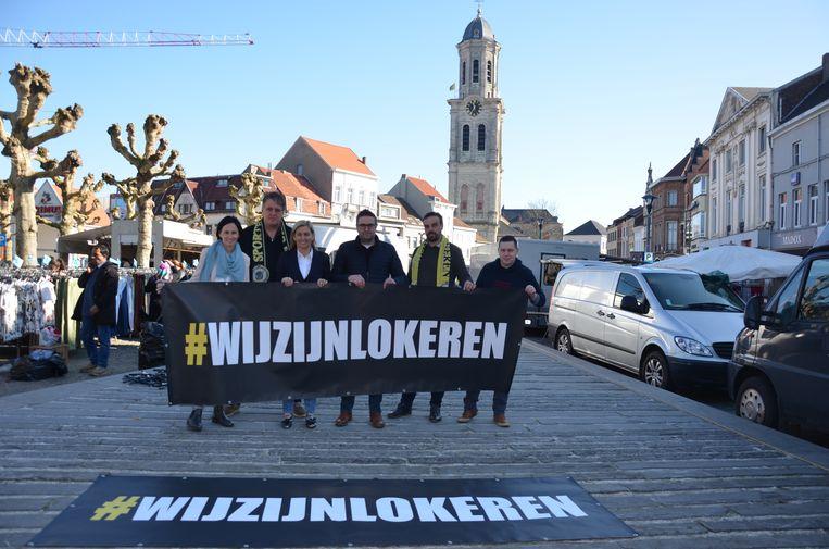 Met de actie #wijzijnLokeren wil de fans en het stadsbestuur tonen dat de Wase voetbalclub een toekomst heeft.