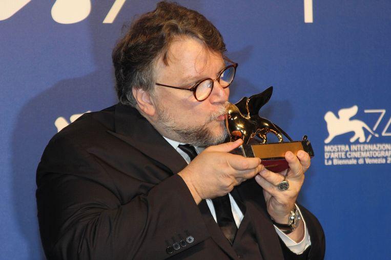 Regisseur Gulliermo del Toro kust de Gouden Leeuw Beeld Photo News