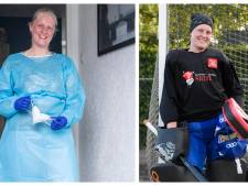De impact van corona op verpleegkundige én hockeykeepster Jolien uit Enter, : 'Spanning van werk kwijtraken kon niet'