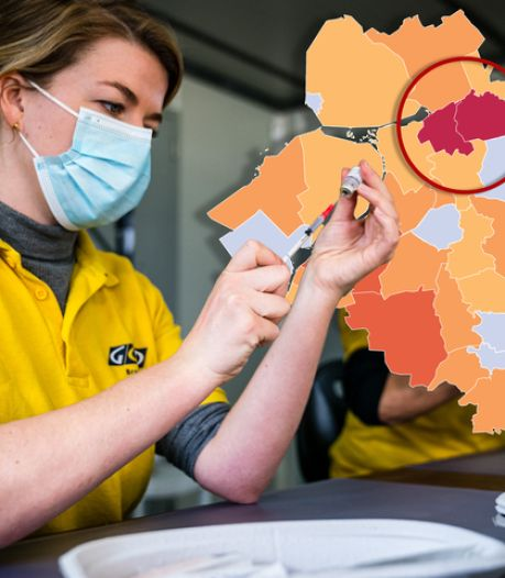 KAART   Nieuwe coronapiek Staphorst tikt bijna jaar oud record aan, ook stijging in Apeldoorn