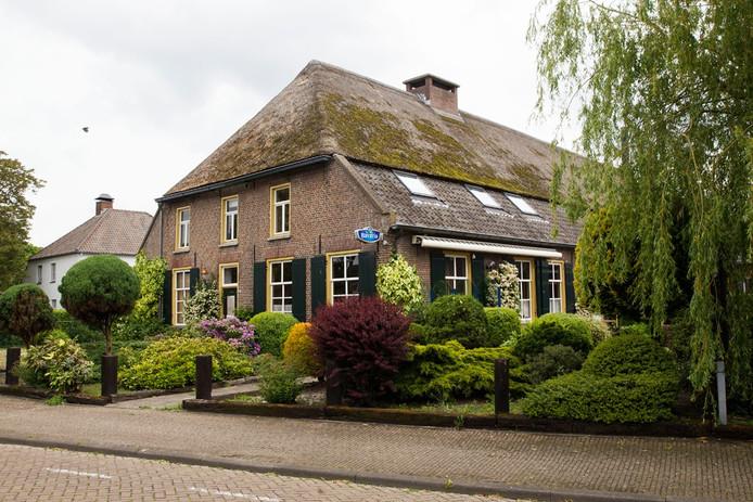 Keizersbosch aan de Oudestraat in Gemert.