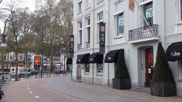 Restaurant 't Zusje aan het Willemsplein.
