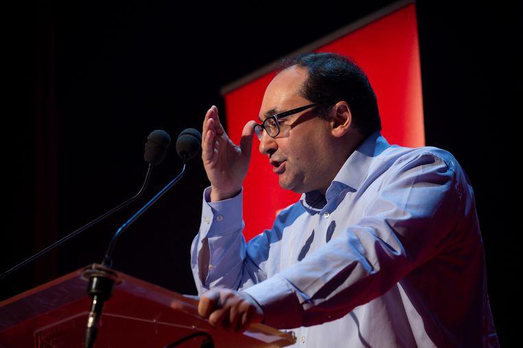PS-Kamerfractieleider en voorzitter van de Brusselse PS Ahmed Laaouej.