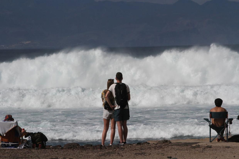 Toeristen op Tenerife Beeld Pacific Press/LightRocket via Ge
