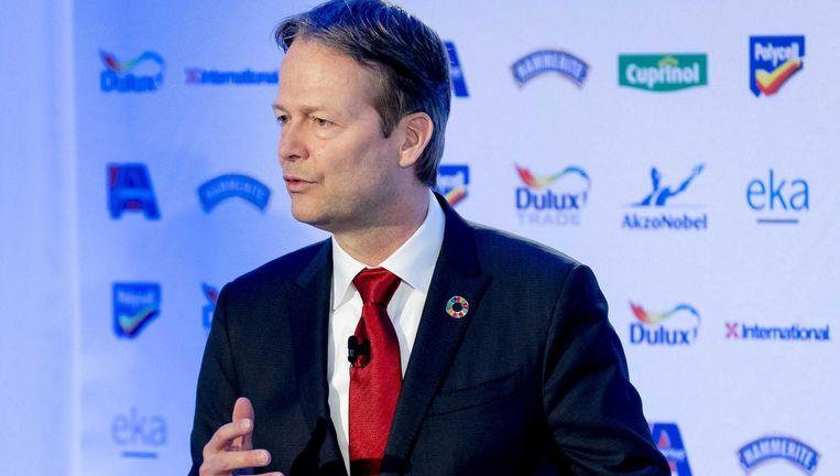 Tom Büchner, topman van AkzoNobel. Beeld anp