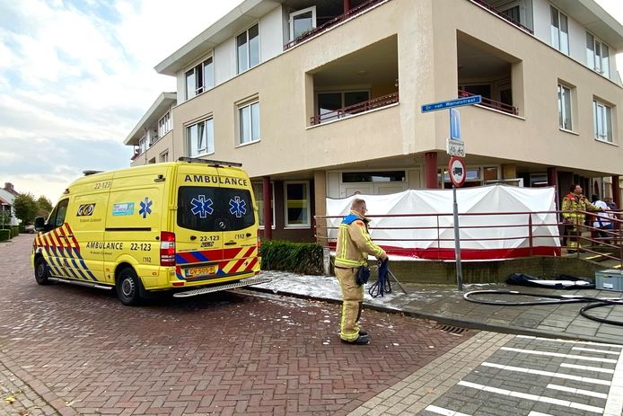 Brand bij zorgcomplex in Oirschot.