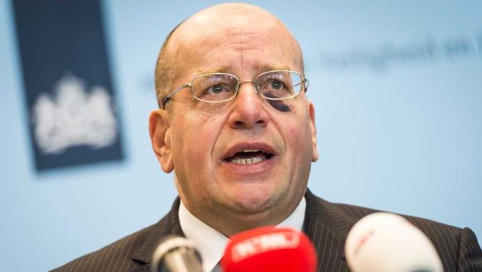 Staatssecretaris Fred Teeven van Justitie
