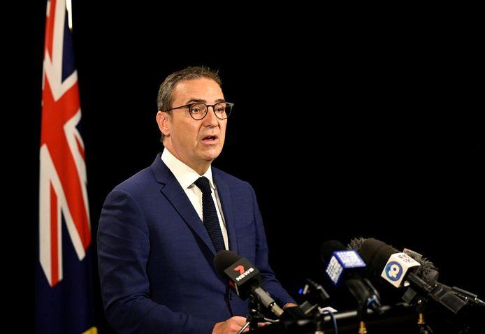 De premier van South Australian Premier Steven Marshall.