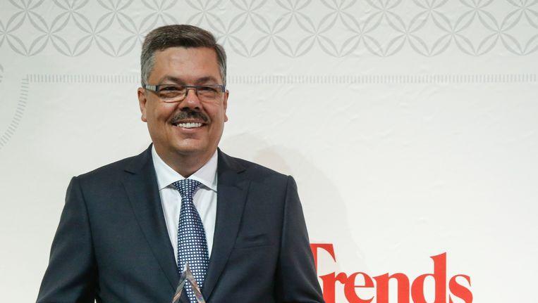 Chris Van Doorslaer, Manager van het Jaar. Beeld BELGA