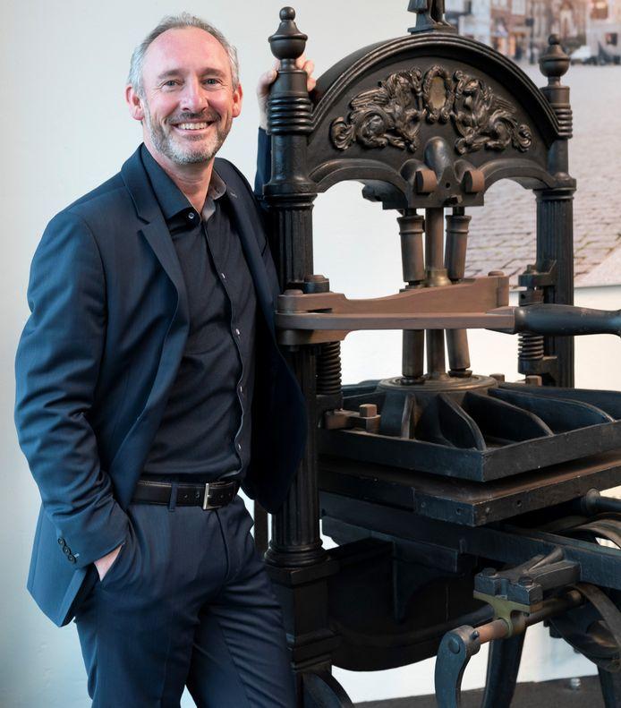 Hoofdredacteur Lucas van Houtert van het BD.