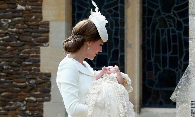 Britse prinses Charlotte gedoopt