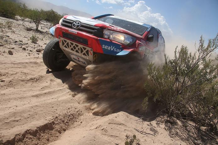 Erik van Loon tijdens de Dakar Rally 2017.