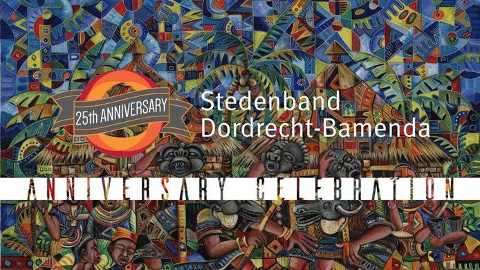 Het programma van de 'Dordrecht-Bamenda Anniversary Celebration' bestaat donderdag 22 juli uit dans, zang en een veiling van schilderwerk.