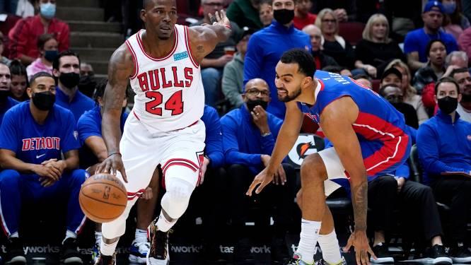 Chicago Bulls behouden perfect rapport na zege tegen Detroit Pistons
