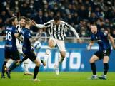 Dumfries zorgt met lompe actie voor puntverlies bij Inter tegen Juventus