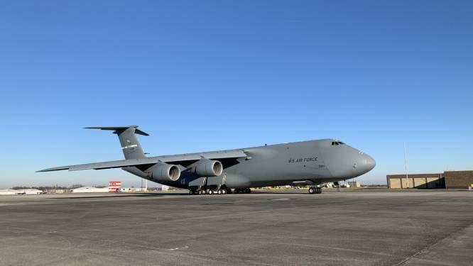 Grootste Amerikaans legervliegtuig landt onverwacht in Zaventem