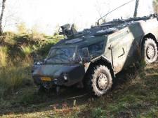 'Militaire invasie' bij Stoutenburgerlaan