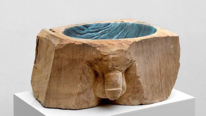 Nederlandse kunstenares Femmy Otten stelt tentoon in Warande