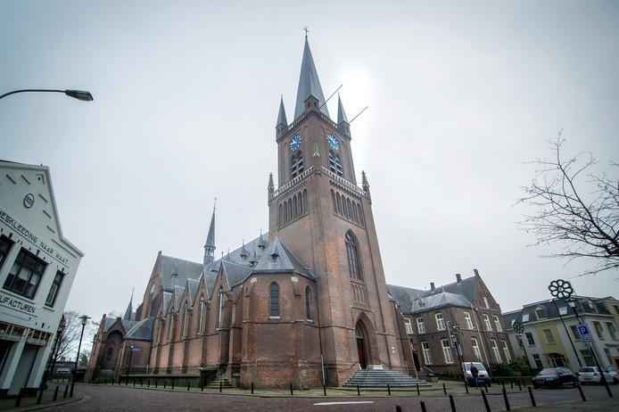 De Ewaldenkerk in Druten aan de Hogestraat.