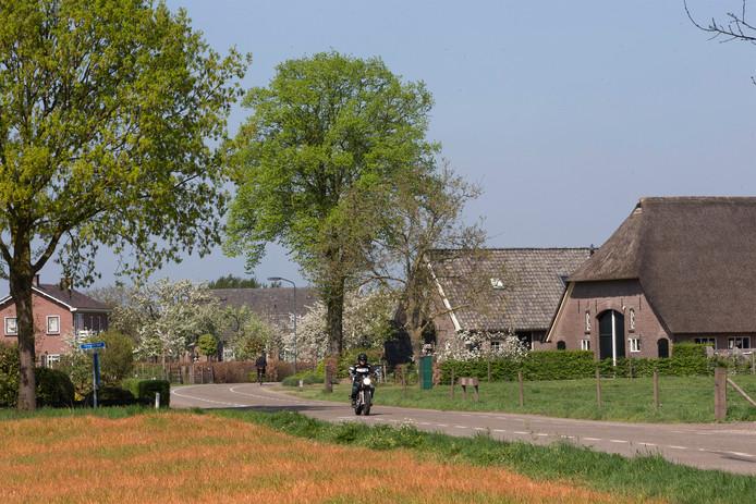 De Hoogstraat in Toldijk.