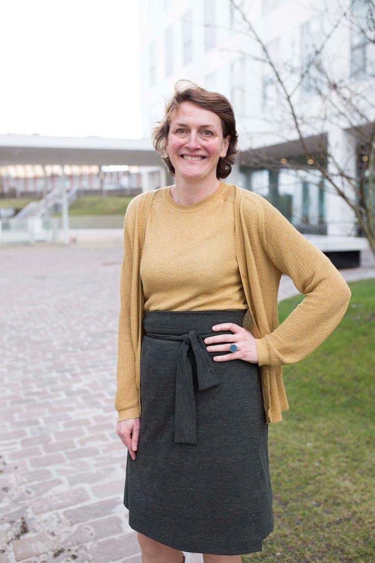 Marij Preneel, districtsburgemeester in Borgerhout. Beeld BELGAONTHESPOT