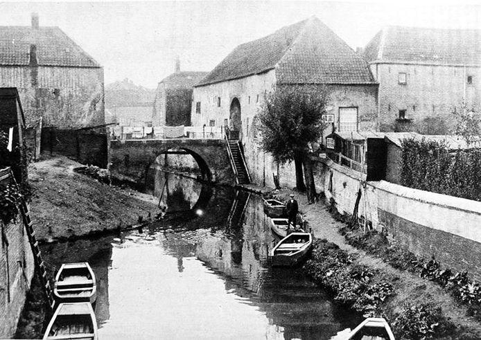 In augustus 1919 begint stamvader Vincenzo Giuseppe Marcolina een eigen bedrijf in terrazzo aan de Zusters van Orthenpoort (r), hartje Den Bosch