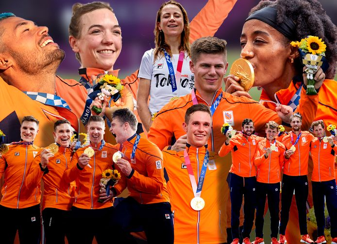 De gouden ploeg van TeamNL.