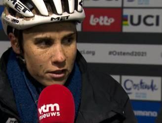 """Sanne Cant is beste Belgische op achtste plaats na turbulente cross: """"Het mocht niet zijn vandaag"""""""