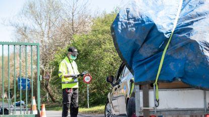 Dankzij afsprakensysteem verloopt heropening recyclagepark in Oudenaarde rimpelloos