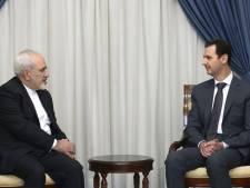 Syrie: Bachar Al-Assad reçoit l'Iranien Zarif