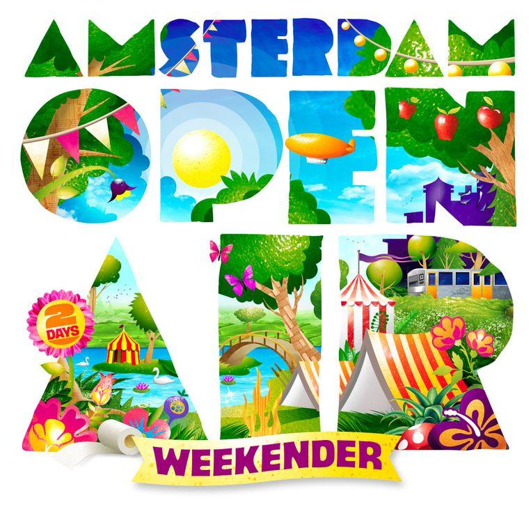 null Beeld Amsterdam Open Air