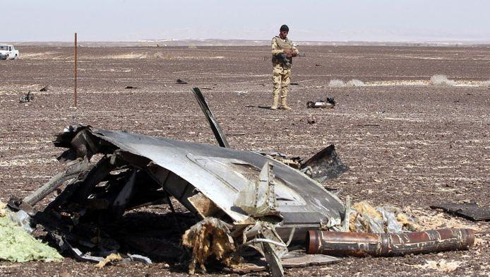 De resten van het gecrashte toestel kwamen terecht in een woest en dunbevolkt gebied