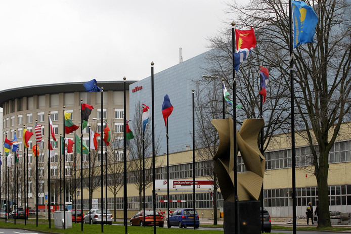 Exterieur van het World Forum.